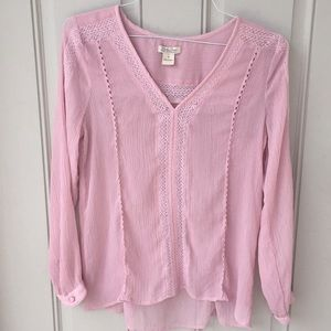 Top by Lucky Brand Purple Small